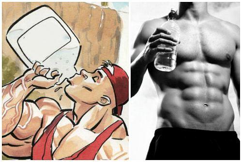 режим питья