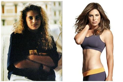 Джиллиан до и после