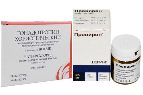 HCG и провирон