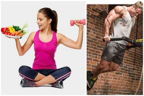 Подкрепление действия препарата правильным питанием и спортом