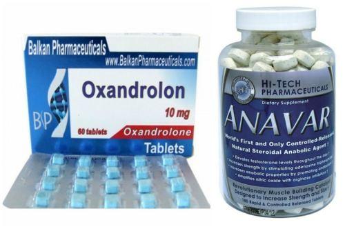 Oxandrolon и Anavar