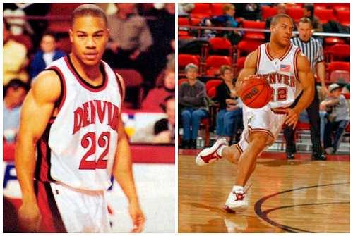 молодой баскетболист
