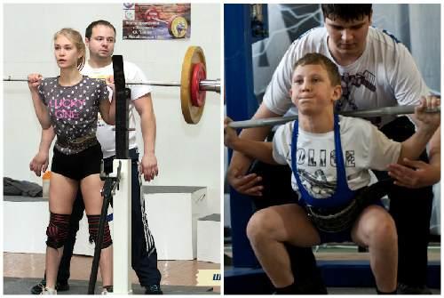 Молодые атлеты