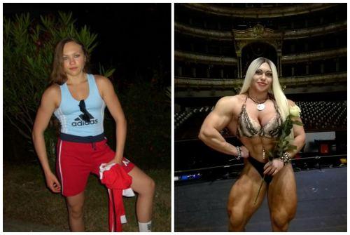 до и после стероидов