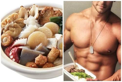 мужская еда