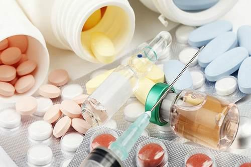 Таблетки и ампулы