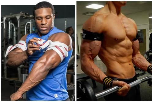 пережимание мышц