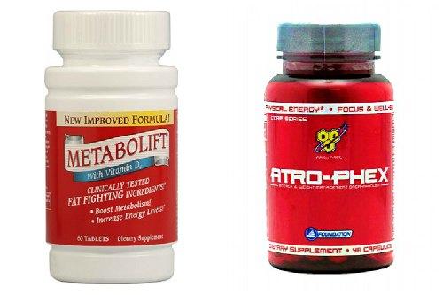 Metabolift Ephedra Free и Atro-phex