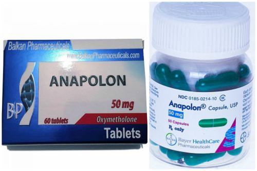 Anapolon в таблетках и капсулах