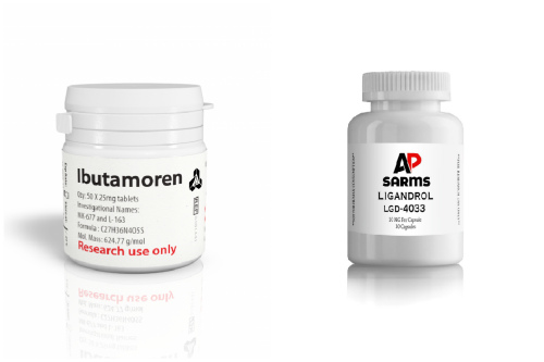 Ibutamoren и Ligandrol