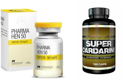 Pharmacom Labs и Primeval labs