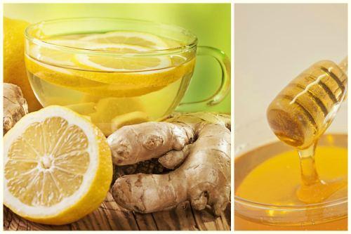 с мёдом и лимоном