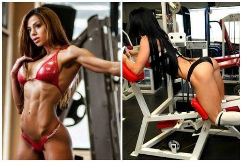 проработанные мускулы