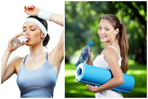 фитнес с водой