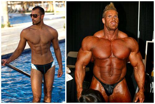 разница в мышечной массе