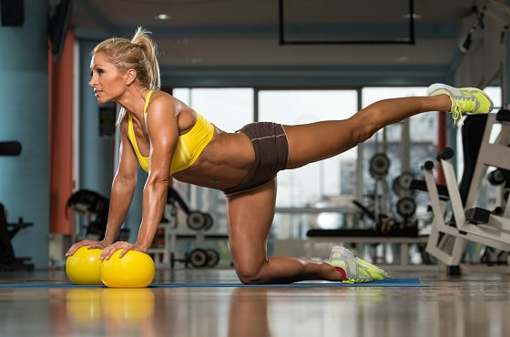 Девушка-спортсменка