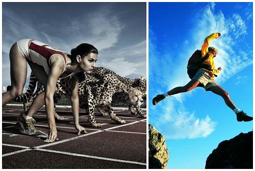 бег и прыжки