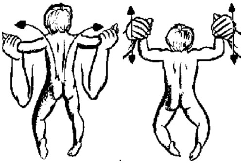 крестик и пружинка
