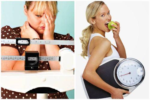 Лишний вес и стройная фигура