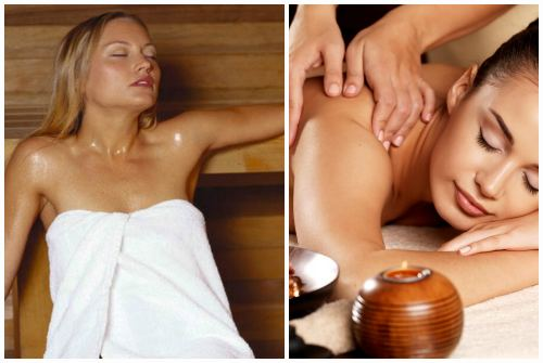 баня и массаж