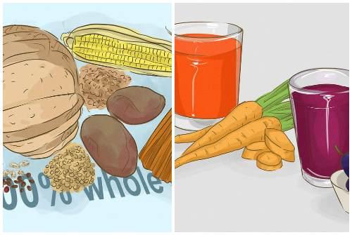 овощи и злаки