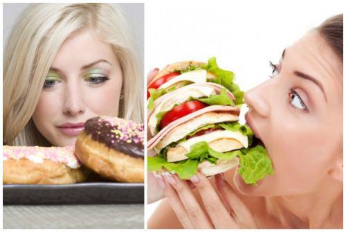 соблазн влечет переедание
