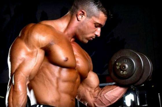 Накачка мышц