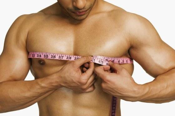 замер обхвата грудных мышц
