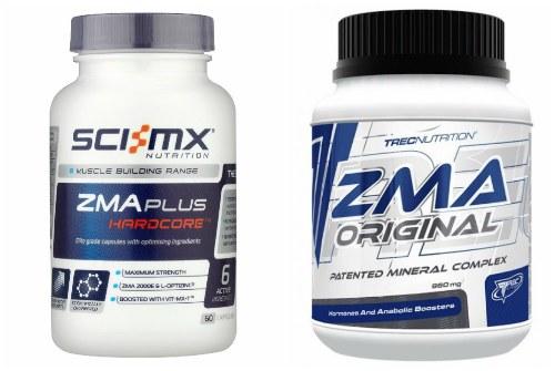 Sci-Mx и Trec nutrition