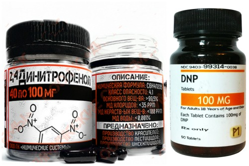 капсулы и таблетки DNP 100 mg