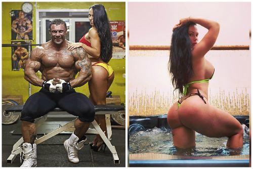 Фитнес модель Любовь Дрескова