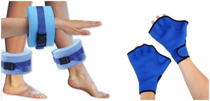 Акваманжеты и перчатки