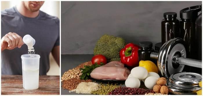 Углеводная смесь и продукты для набора мышечной массы