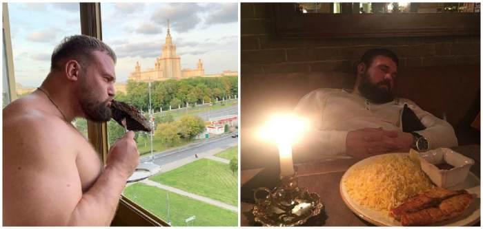 Как питается русский богатырь