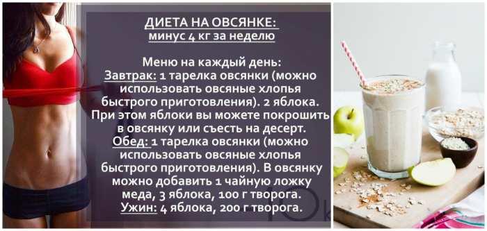 Овсяная диета