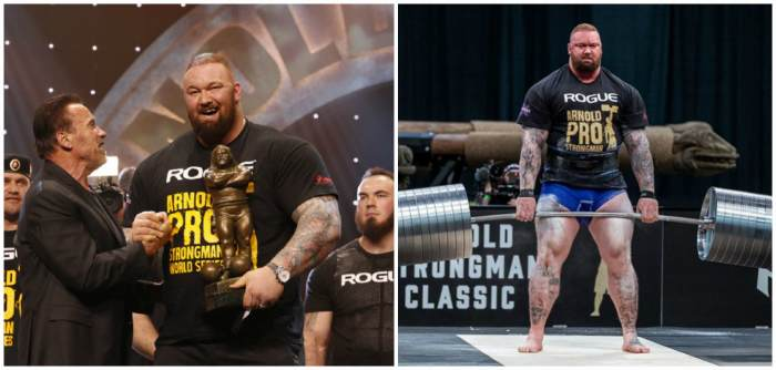Победитель «Arnold Strongman Classic»