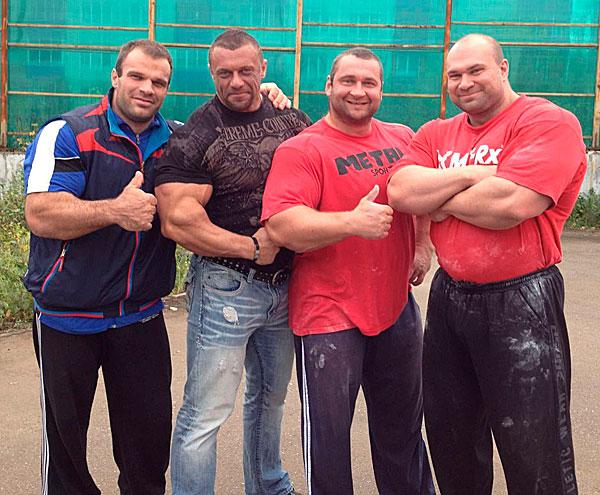 Педан, Цыпленков, Сидорычев и Фомин