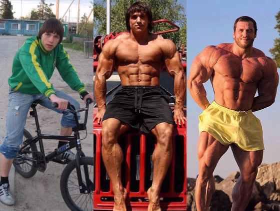 Андрей Скоромный фото до и после