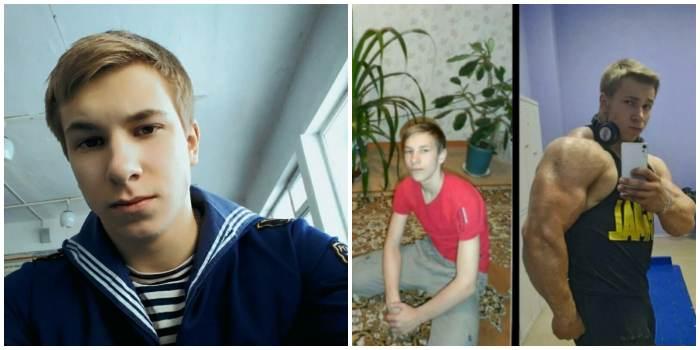 Фото Угольникова до и после